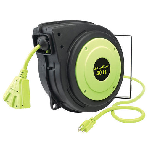 Shop Bayco 50-ft 3-Outlet Plastic Retractable Cord Organizer at