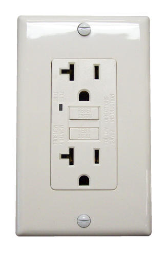 Legrand 20-Amp125-Volt Deadfront GFCI Outlet at Menards